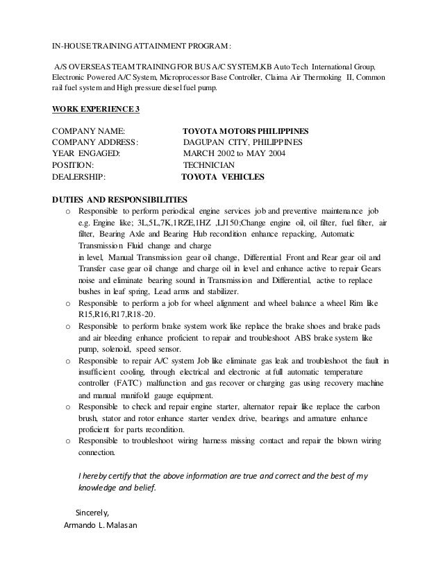 images of resume for maintenance technician career resume and
