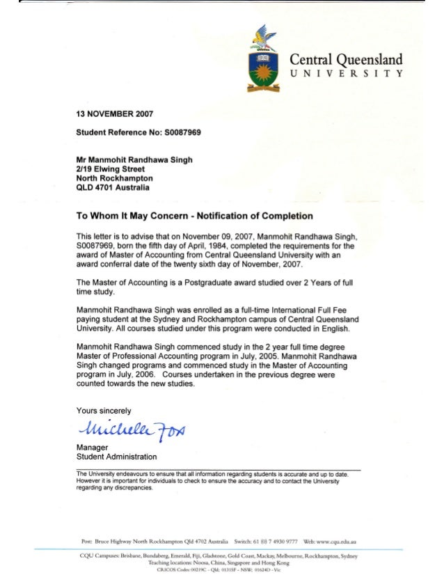 Diploma Completion Letter Gallery Download Cv Letter And