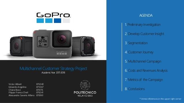 GoPro - Multichannel Customer Strategy Project - report
