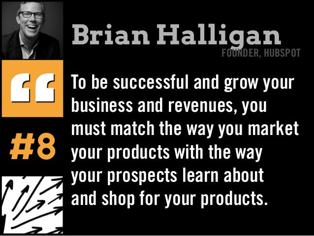 To be successful and grow your business and revenues, you must match the way you market your products with the way your pr...