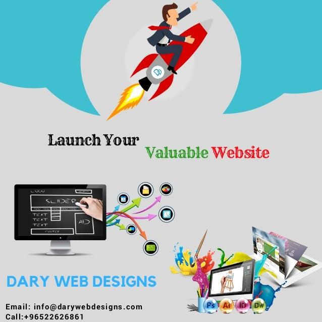 Dary Web Designs - Web development company Kuwait