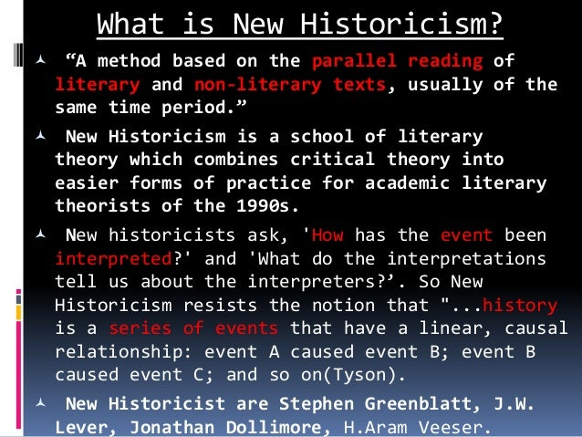 what is literary theory and do Introduction to literature michael delahoyde new historicism historical criticism insisted that to understand a literary piece, we need to understand the author's.