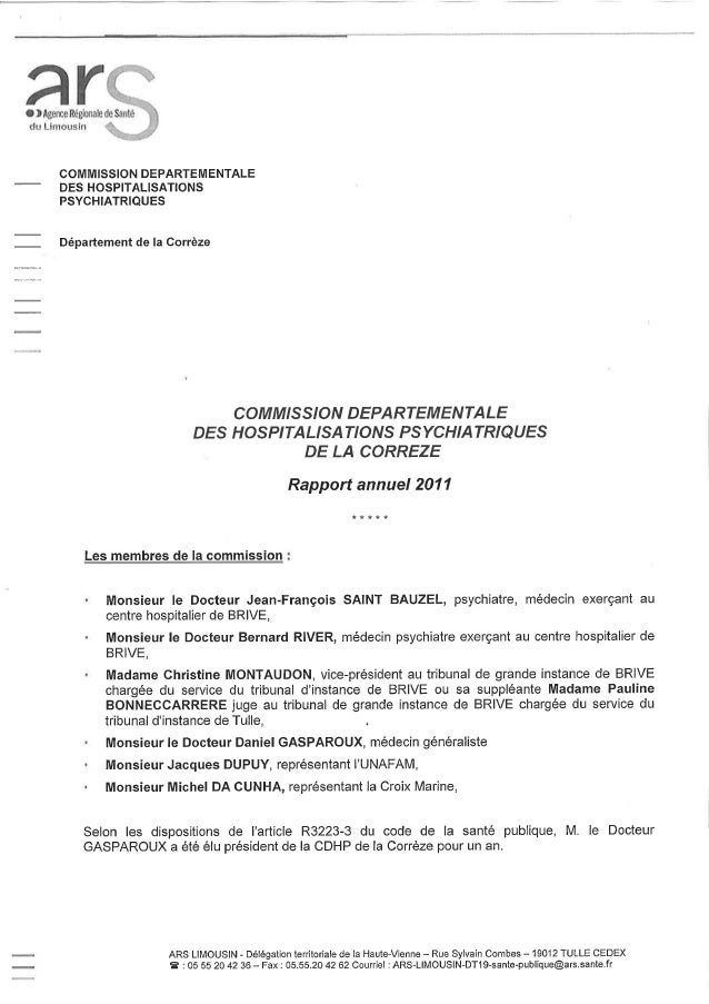 19 rapport activité 19 2011