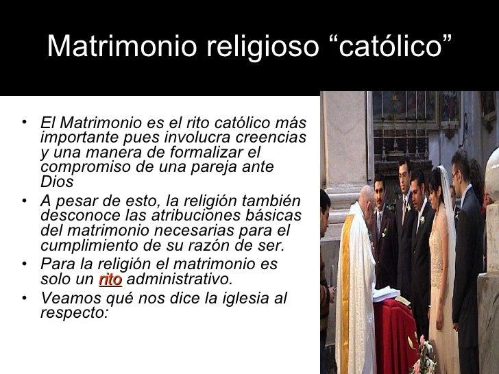 Juramento En El Matrimonio Catolico : Seminario de orientación prematrimonial
