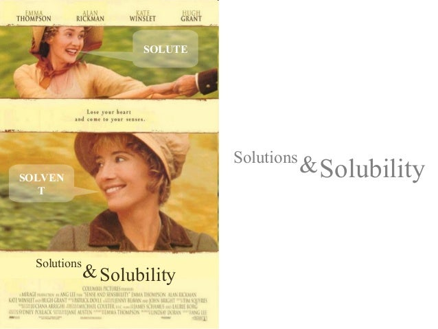 SOLUTE                              SolutionsSOLVEN                                          & Solubility   T  Solutions  ...