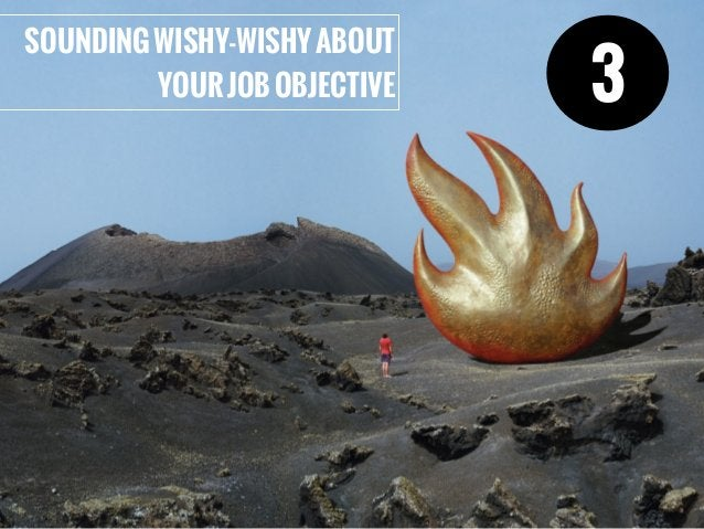 SOUNDINGWISHY-WISHYABOUT YOURJOBOBJECTIVE 3