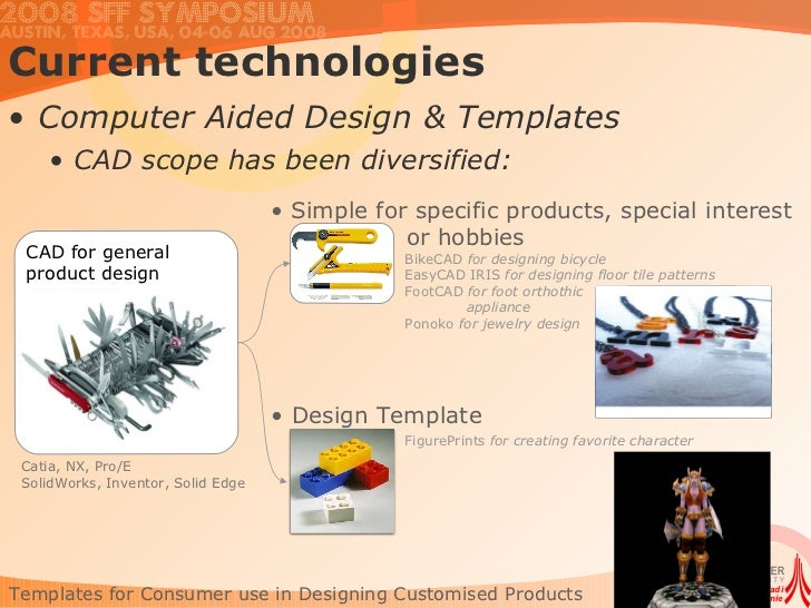 Character Generator Computer Aided Design : Templates for consumer use in designing customised products
