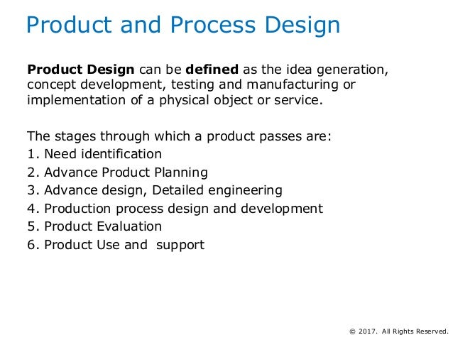Tuning the planning and control system to product and