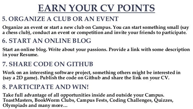 19 tips to improve your cv resume freshers