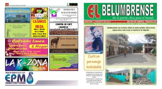 Calle 6 No. 11-38, Edif. Villa del Café Telefax. 3528413 E-mail: notariau.belendeumbria@supernotariado.gov.co NOTARIAUNICA...