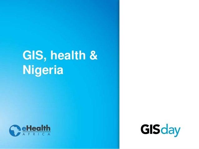 Gis application in nigeria