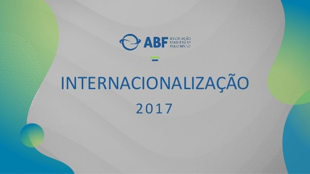 INTERNACIONALIZA��O 2017