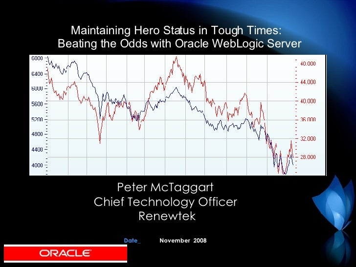 Peter McTaggart Chief Technology Officer Renewtek Date_ November  2008 Maintaining Hero Status in Tough Times:  Beating th...