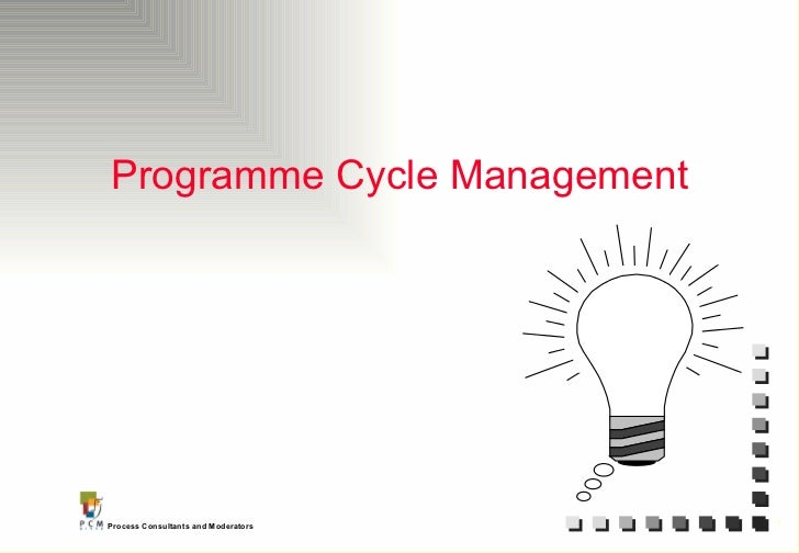 Programme Cycle Management
