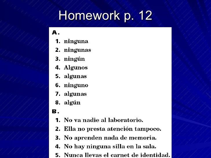 Capitulo 1a Spanish 2