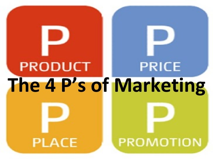 4ps of marketing The 4 ps - product, price, place and promotion - of marketing - time for a rewrite product, placement, price and promotion - these are the four ps of marketing.