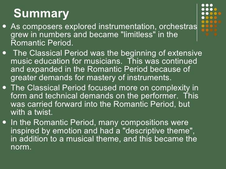 romanticism summary