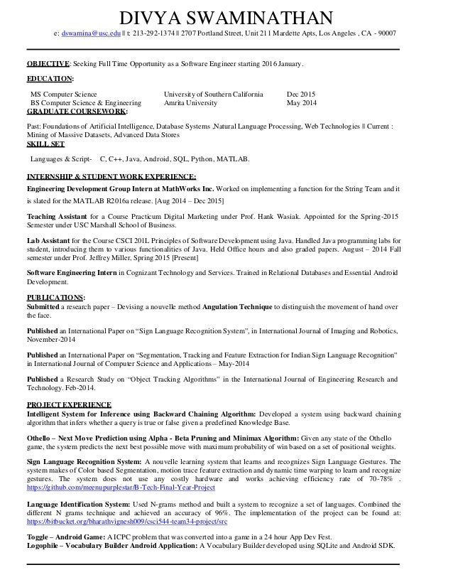 Enchanting Portland Engineering Resume Images - Administrative ...