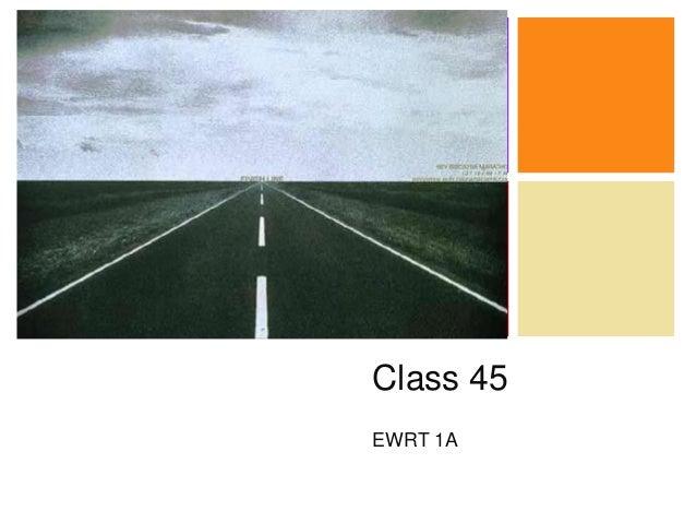 + Class 45 EWRT 1A