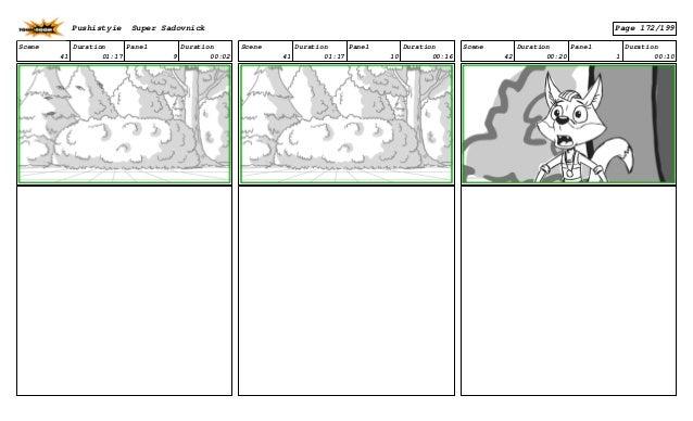 Scene 41 Duration 01:17 Panel 9 Duration 00:02 Scene 41 Duration 01:17 Panel 10 Duration 00:16 Scene 42 Duration 00:20 Pan...