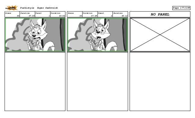 Scene 44 Duration 07:09 Panel 1 Duration 00:06 Scene 44 Duration 07:09 Panel 2 Duration 00:12 NO PANEL Pushistyie Super Sa...