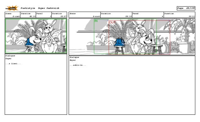 Scene 6-cont Duration 08:10 Panel 3 Duration 00:07 Dialogue Zayaz ...s Lisoi... Scene 6-cont Duration 08:10 Panel 4 Durati...