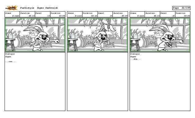 Scene 6-cont Duration 08:10 Panel 13 Duration 00:04 Dialogue Zayaz ...ras... Scene 6-cont Duration 08:10 Panel 14 Duration...
