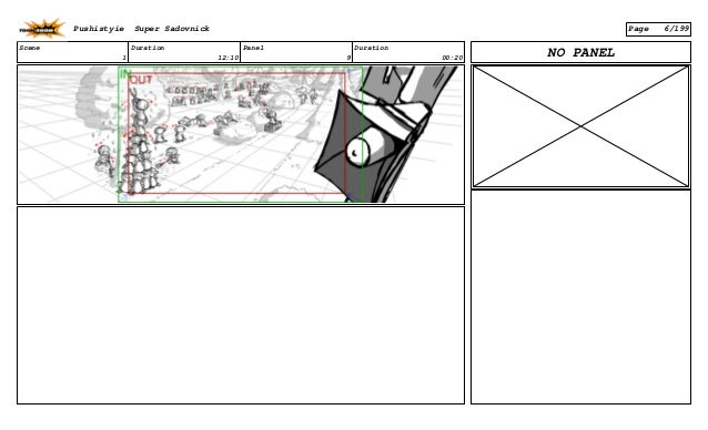 Scene 1 Duration 12:10 Panel 9 Duration 00:20 NO PANEL Pushistyie Super Sadovnick Page 6/199
