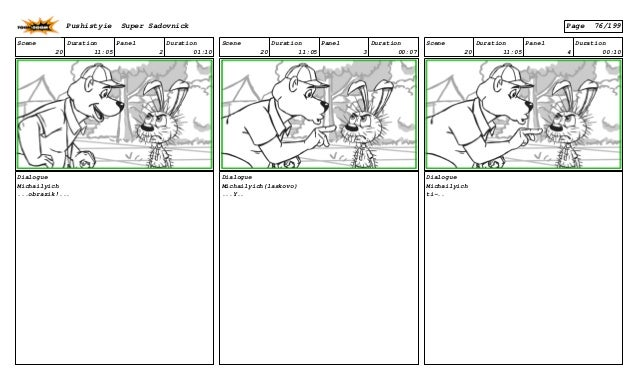 Scene 20 Duration 11:05 Panel 2 Duration 01:10 Dialogue Michailyich ...obrazik!... Scene 20 Duration 11:05 Panel 3 Duratio...
