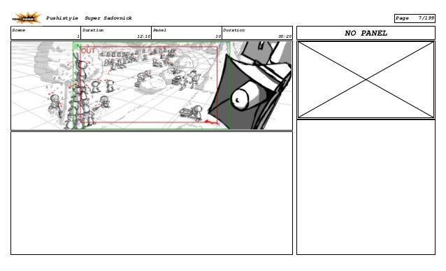 Scene 1 Duration 12:10 Panel 10 Duration 00:20 NO PANEL Pushistyie Super Sadovnick Page 7/199