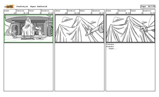 Scene 21 Duration 02:19 Panel 3 Duration 00:12 Scene 22 Duration 02:23 Panel 1 Duration 00:04 Scene 22 Duration 02:23 Pane...