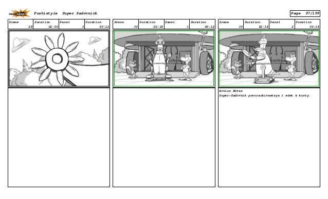 Scene 29 Duration 02:00 Panel 3 Duration 00:12 Scene 30 Duration 02:18 Panel 1 Duration 00:12 Scene 30 Duration 02:18 Pane...