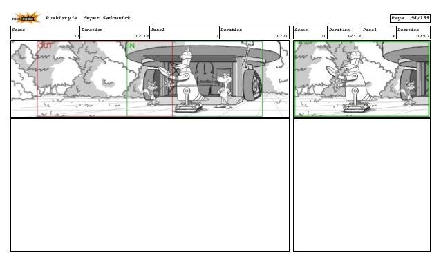 Scene 30 Duration 02:18 Panel 3 Duration 01:10 Scene 30 Duration 02:18 Panel 4 Duration 00:07 Pushistyie Super Sadovnick P...
