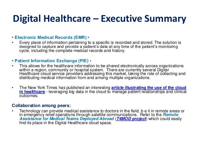Digital healthcare detailed presentation pdf digital healthcare malvernweather Image collections
