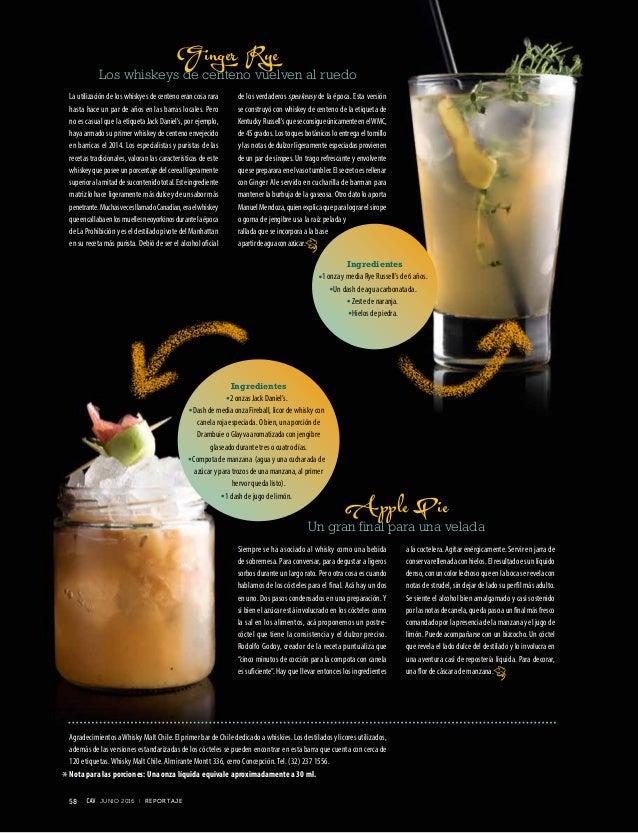Siempre se ha asociado al whisky como una bebida de sobremesa. Para conversar, para degustar a ligeros sorbos durante un l...