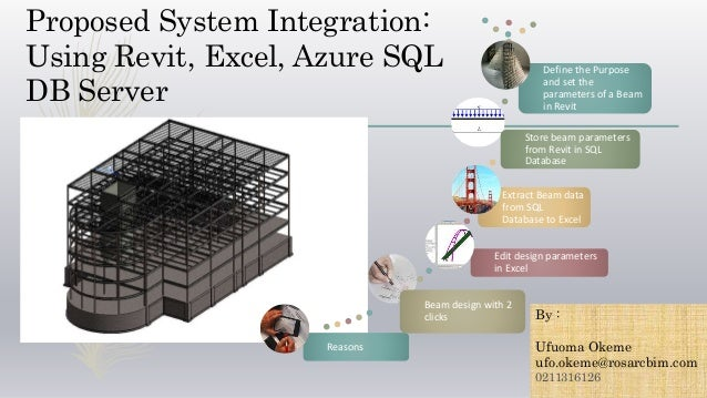 System Integration Demo- Revit and Excel