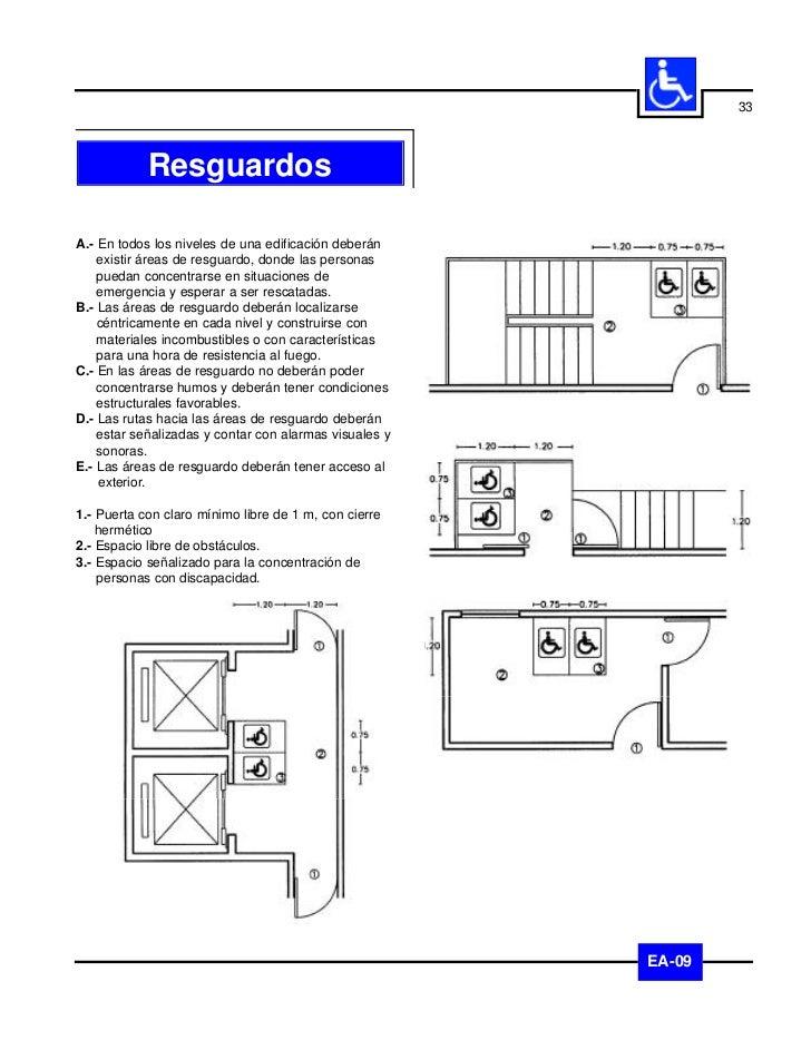 34              VestíbulosA.- Los vestíbulos deberán cumplir con las    recomendaciones indicadas en el apartado de    pis...