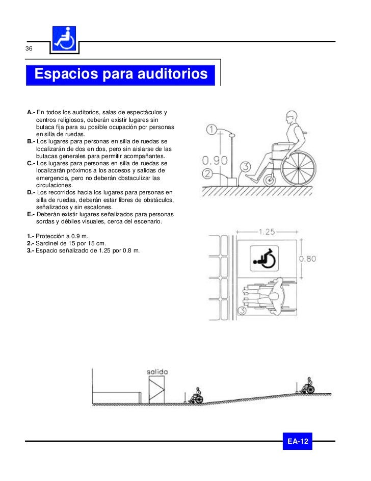 37Espacios para auditorios                           EA-12