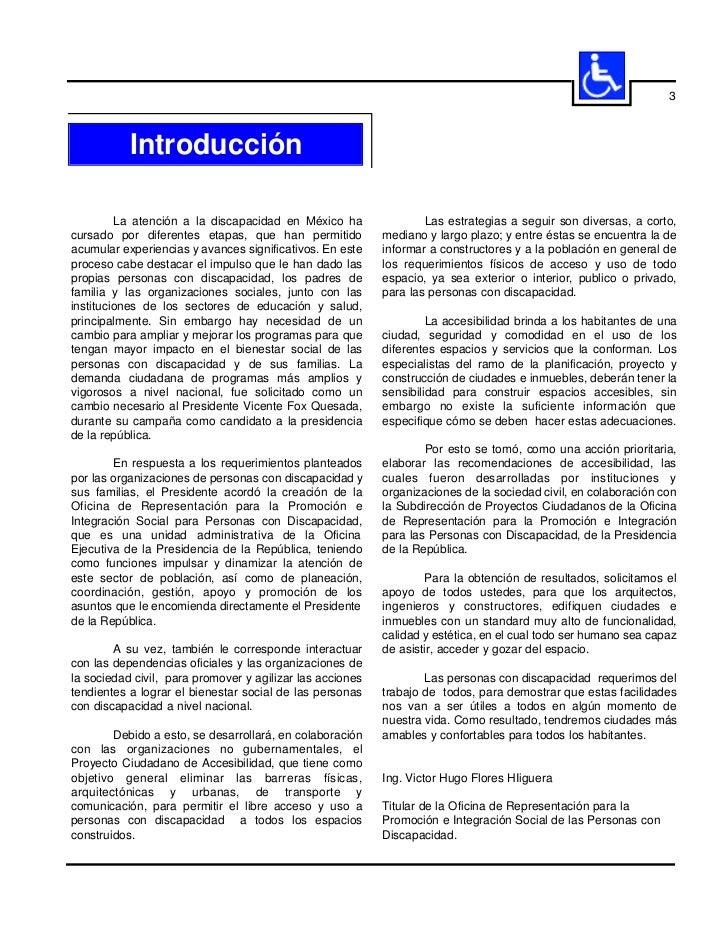 5           Presentación        En México, nadie por sus características físicasy nivel de destreza y habilidad, debe qued...