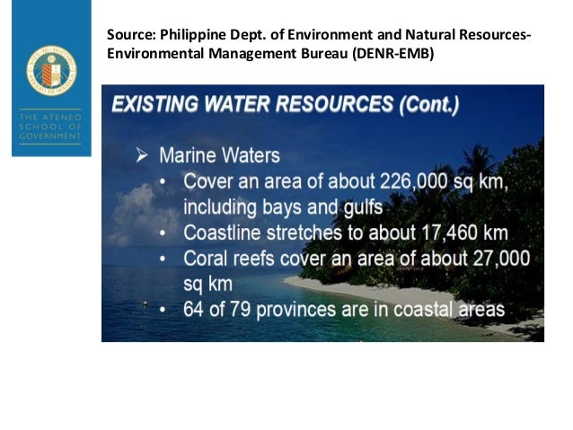 environmental policy paper in philippines Environmental policies in the philippines could not be described as integrated   the first publication of the denr as an environmental white paper and is.