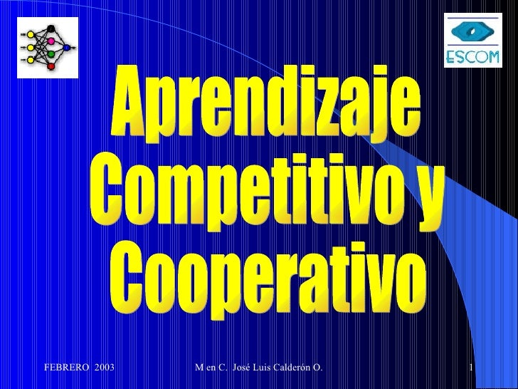 Aprendizaje Competitivo y Cooperativo
