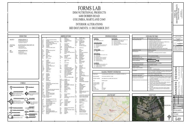 15.146 DSM FORMS LAB - VE SET - CLIENT+GC REVIEW - ARCH