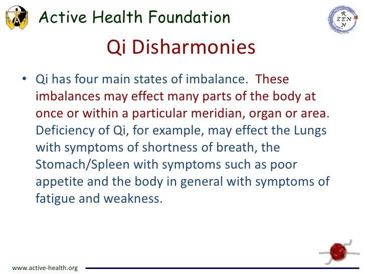 Vital Substances Qi