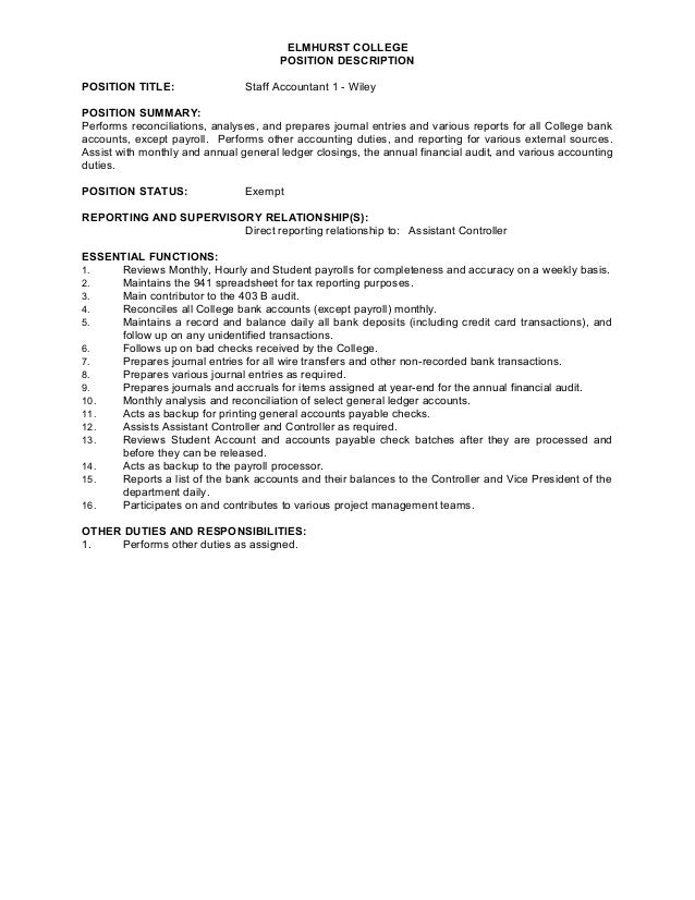 finance sample resume