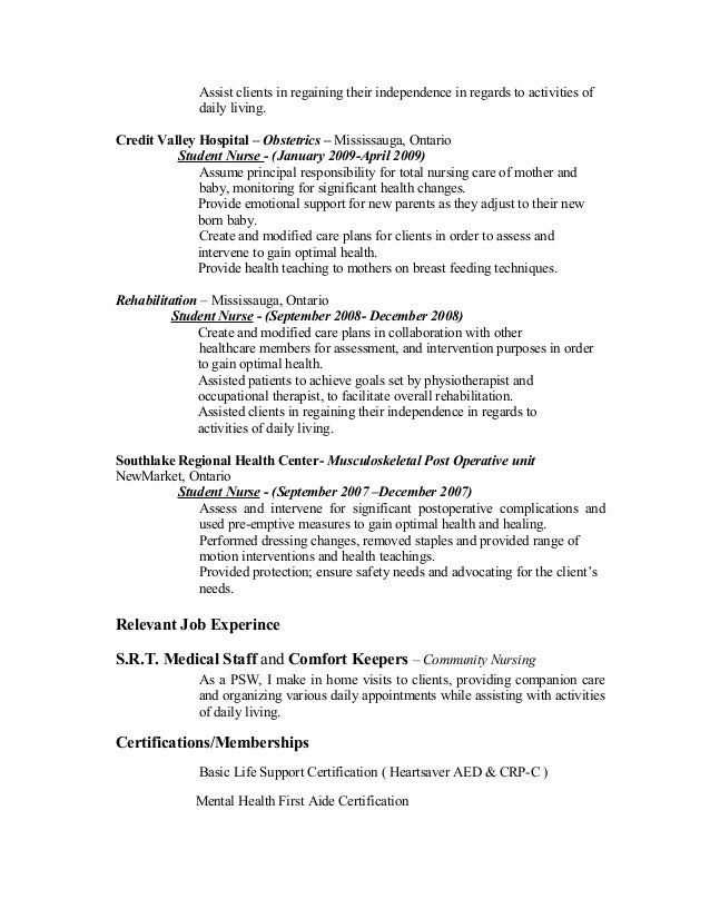 SlideShare  Rehab Nurse Resume