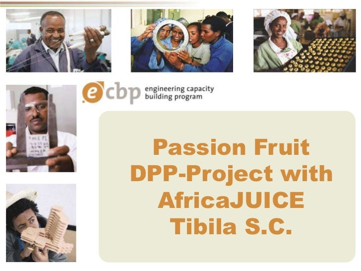 Passion FruitDPP-Project with  AfricaJUICE   Tibila S.C.