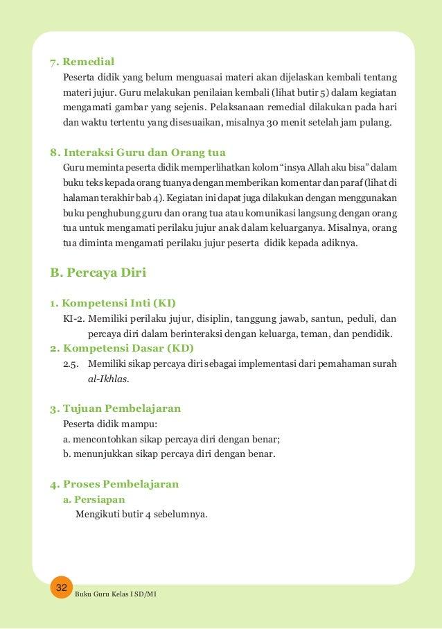 Agama Islam Buku Guru Kelas 1 Sd