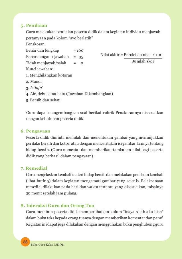 Buku Guru Agama Islam Kelas 1 Sd Mi K13