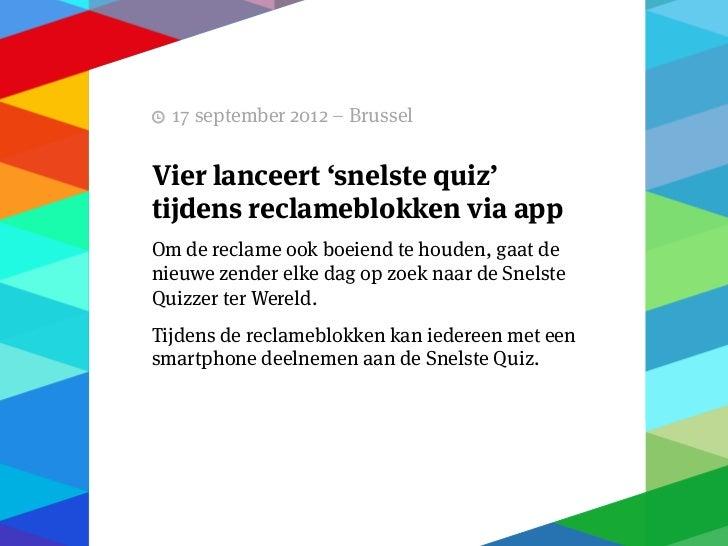 13 september 2012 – Brussel   GoPress: Eerste Belgischedigitale kiosk gaat mobiel.Gopress, de eerste Belgische digitale kr...