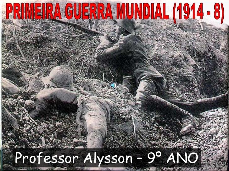 Professor Alysson – 9º ANO